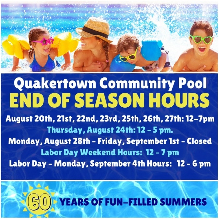 Last Pool Day   Event List View   Quakertown, PA