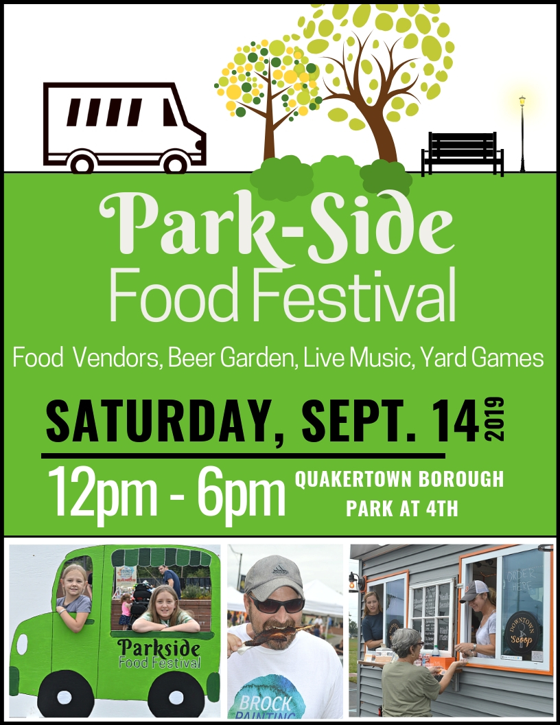 Park Side Food Festival - Flyer
