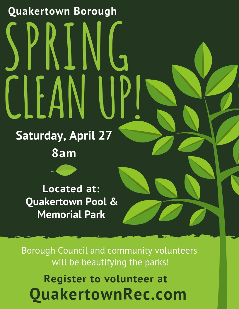 Spring Clean Up Flyer