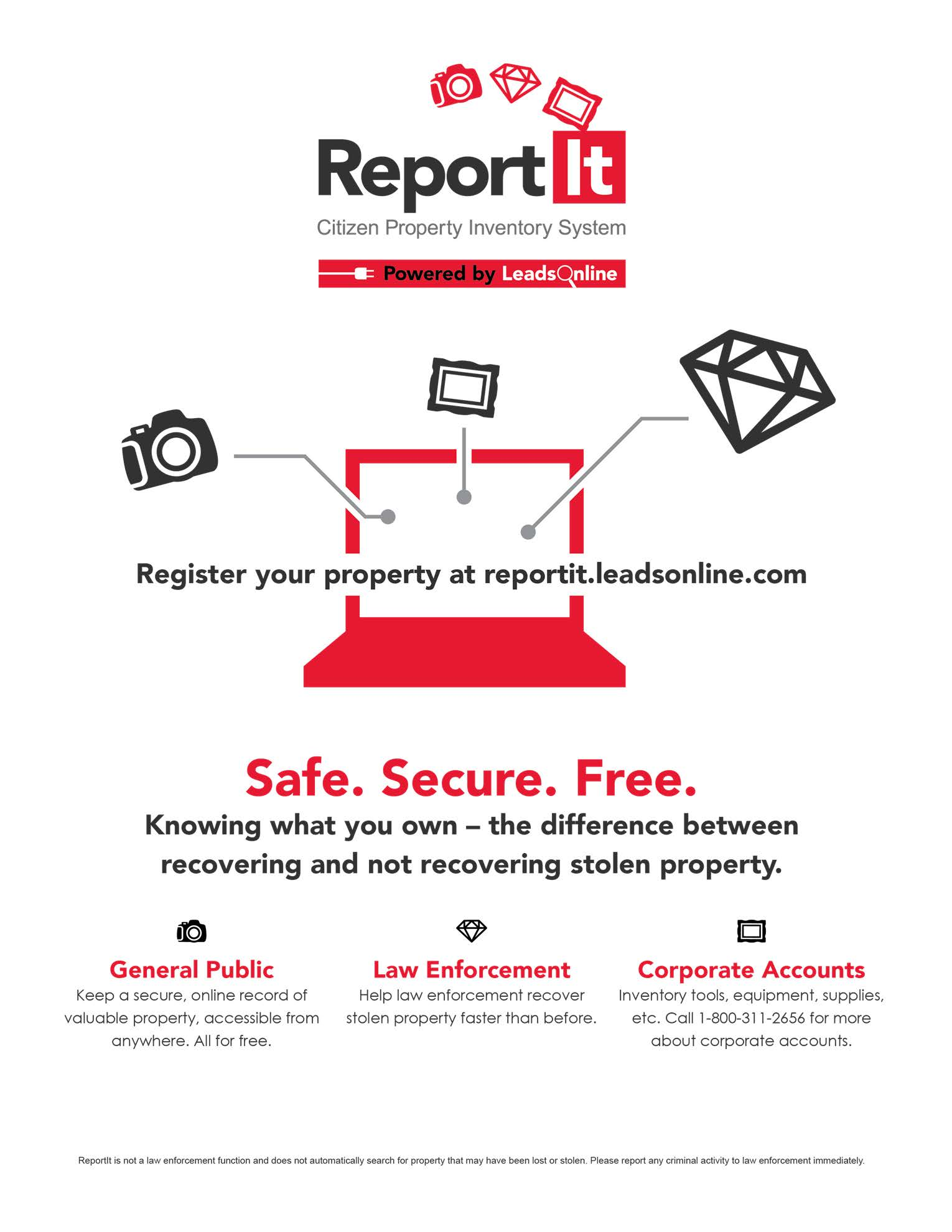 ReportIt Flyer
