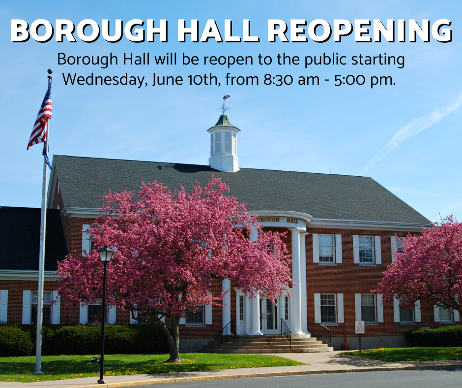 Borough Hall Reopening