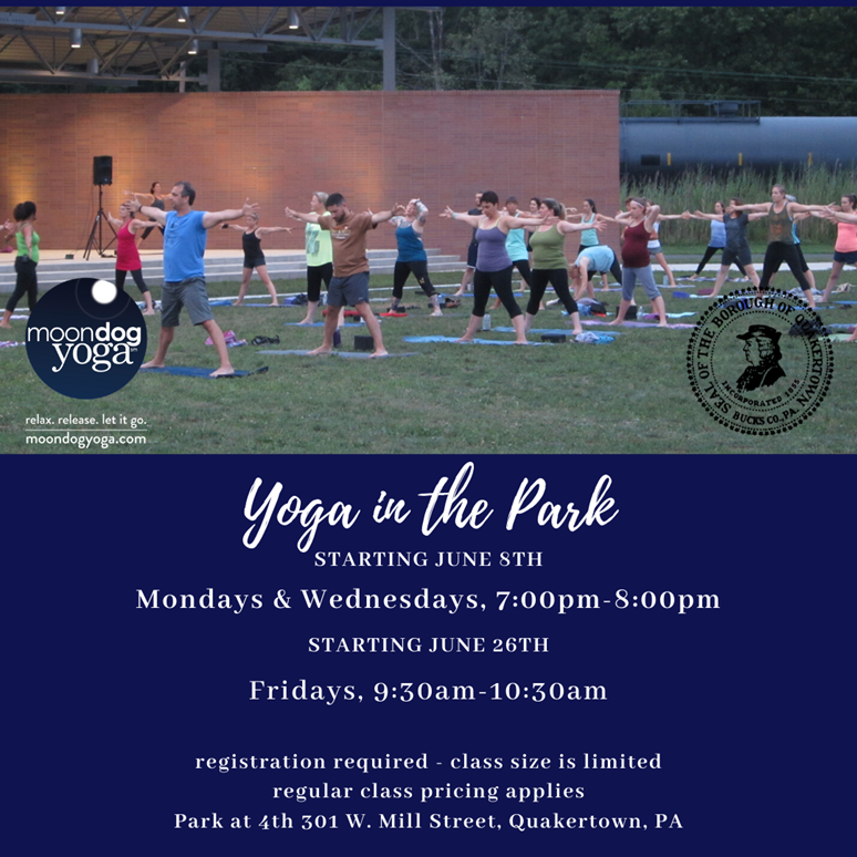 yoga in the park fridays